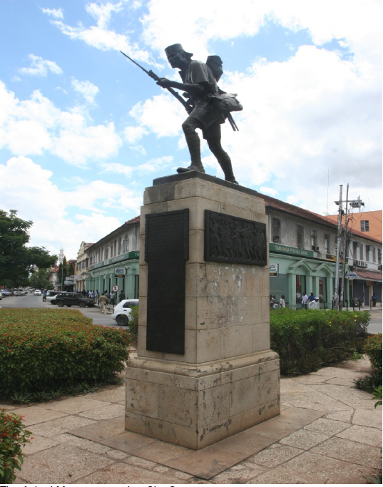 The Askari Monument at the City Centre